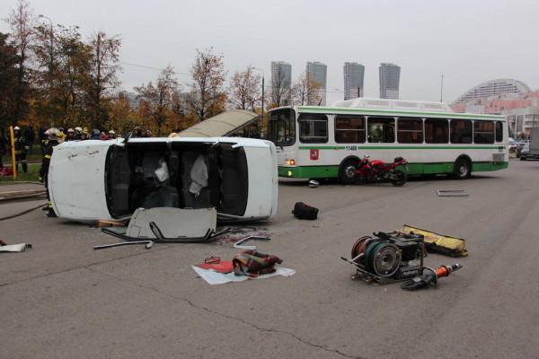 Que debe hacer si sufre un accidente de trafico en transporte publico